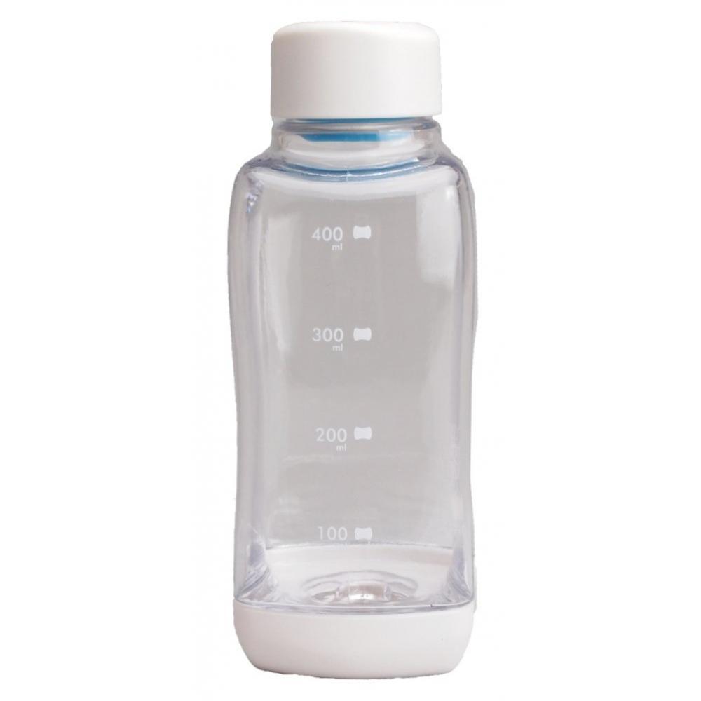 Parukinzoku water bottle 500ml straight drinking PC Aqua bottle clear block style H-6031