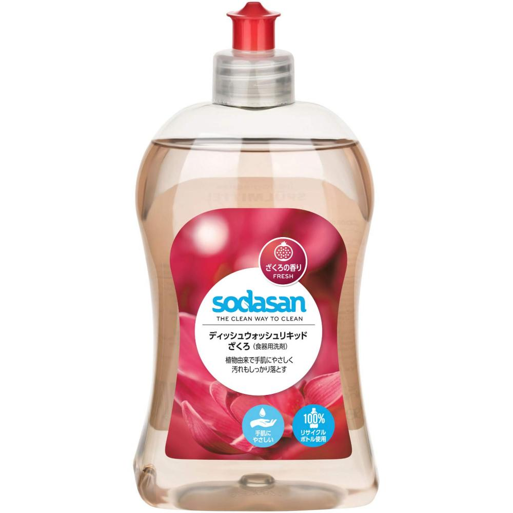 SODASAN Dishwashing Detergent Organic Pomegranate Dishwash Liquid 500ml