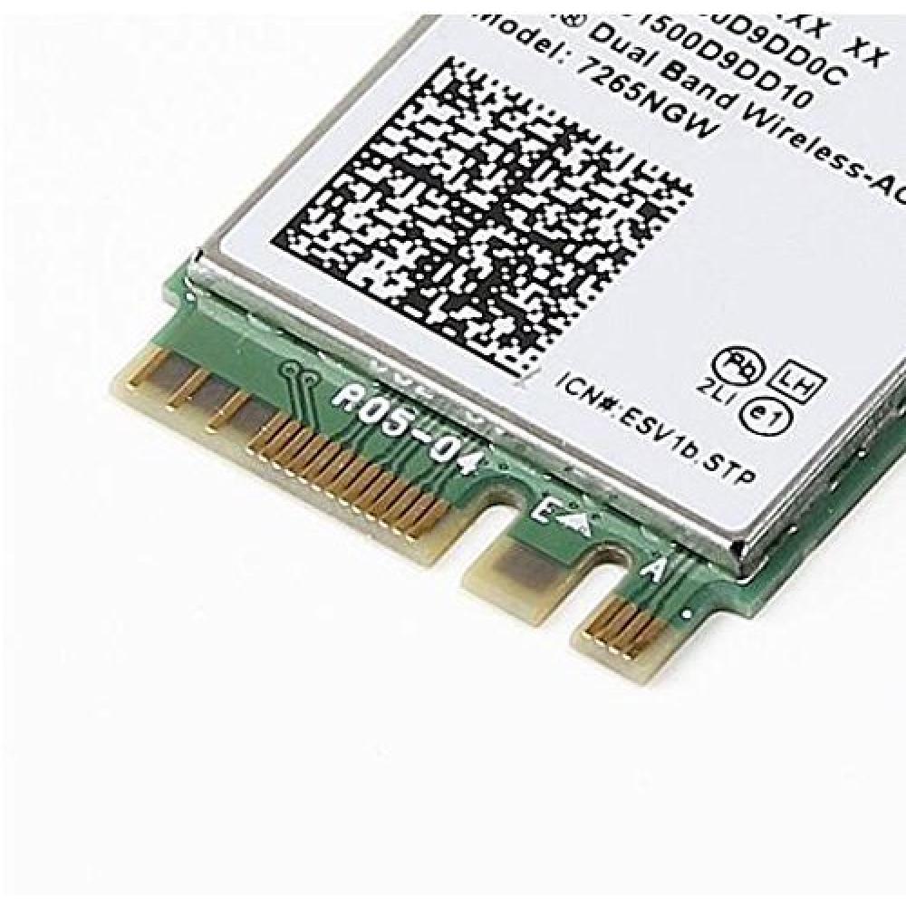 Dual Band wireless-ac 7265 NGFF m2 use for Intel AC 7265 NGW 802.11 AC 2x2 Wi-Fi + Bluetooth 4.0