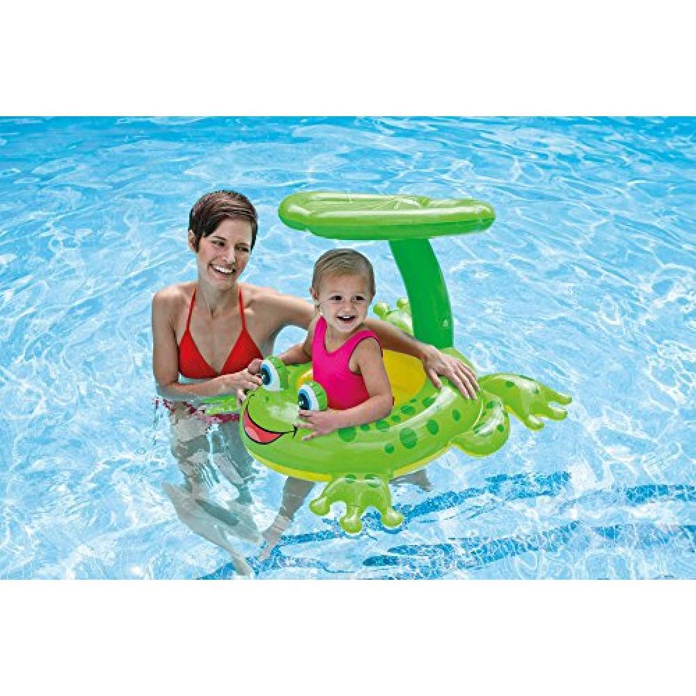 INTEX Froggie Friend Shade Baby Float 56584
