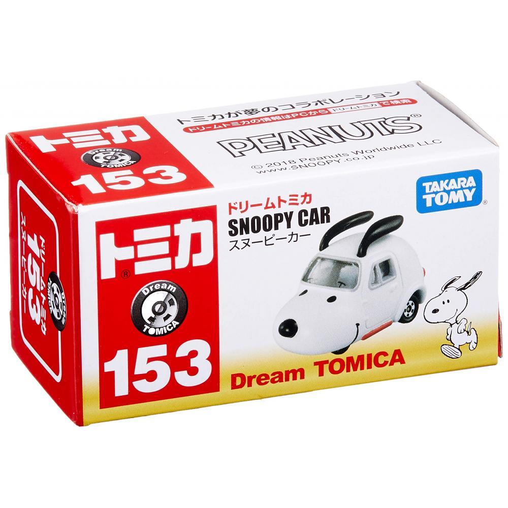 Tomica Dream Tomica No.153 Snoopy car