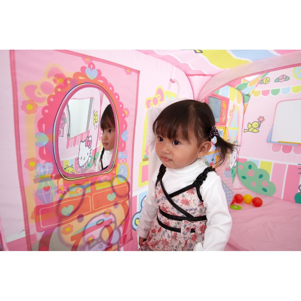 Playing house House Come you to Hello Kitty play