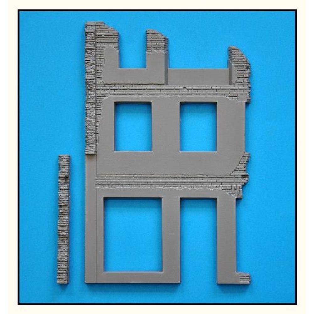 Mini Art 1/35 diorama base 36 ruins of building plastic model