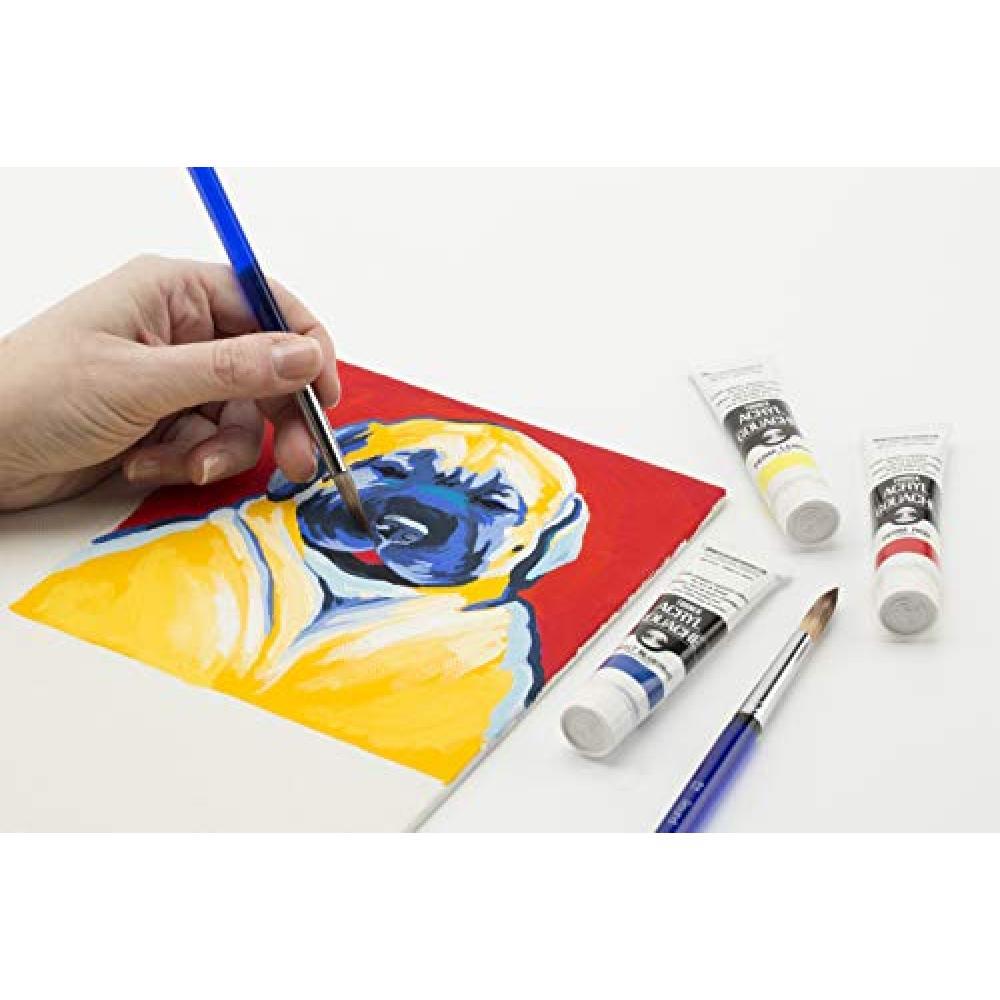 Turner Color Acrylic Gouache Yellow Ocher AG100032 100ml