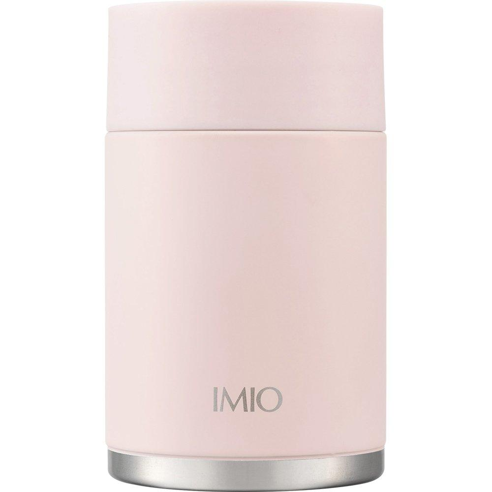 Hehei Fraise Bento Box Soup Compact Lunch Pot Imio 300ml Pink Vacuum Insulation Structure Heat Insulation Cool Insulation IM-0013