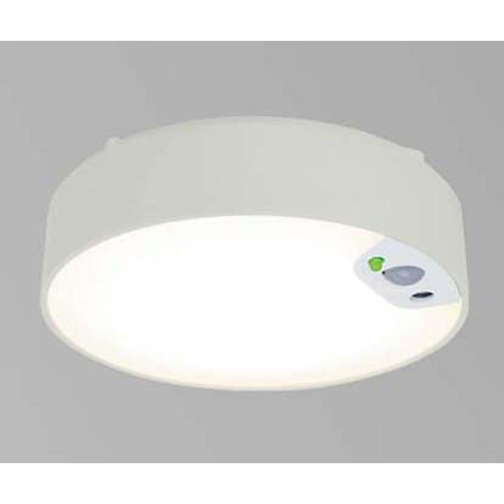 Iris Ohyama Thin-type direct-attached LED light with human sensor With feed wiring Electrical work required 1045L-SJ1-WMS
