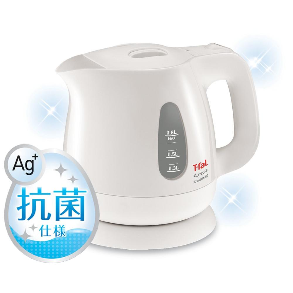 Tefal electric kettle 0.8L Apureshia ultra-clean neo-antibacterial pearl white KO3901JP