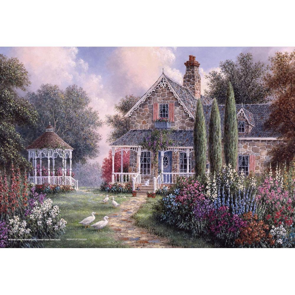 300 Piece Jigsaw Puzzle Dennis Lewan Elmirers Cottage (26x38cm)
