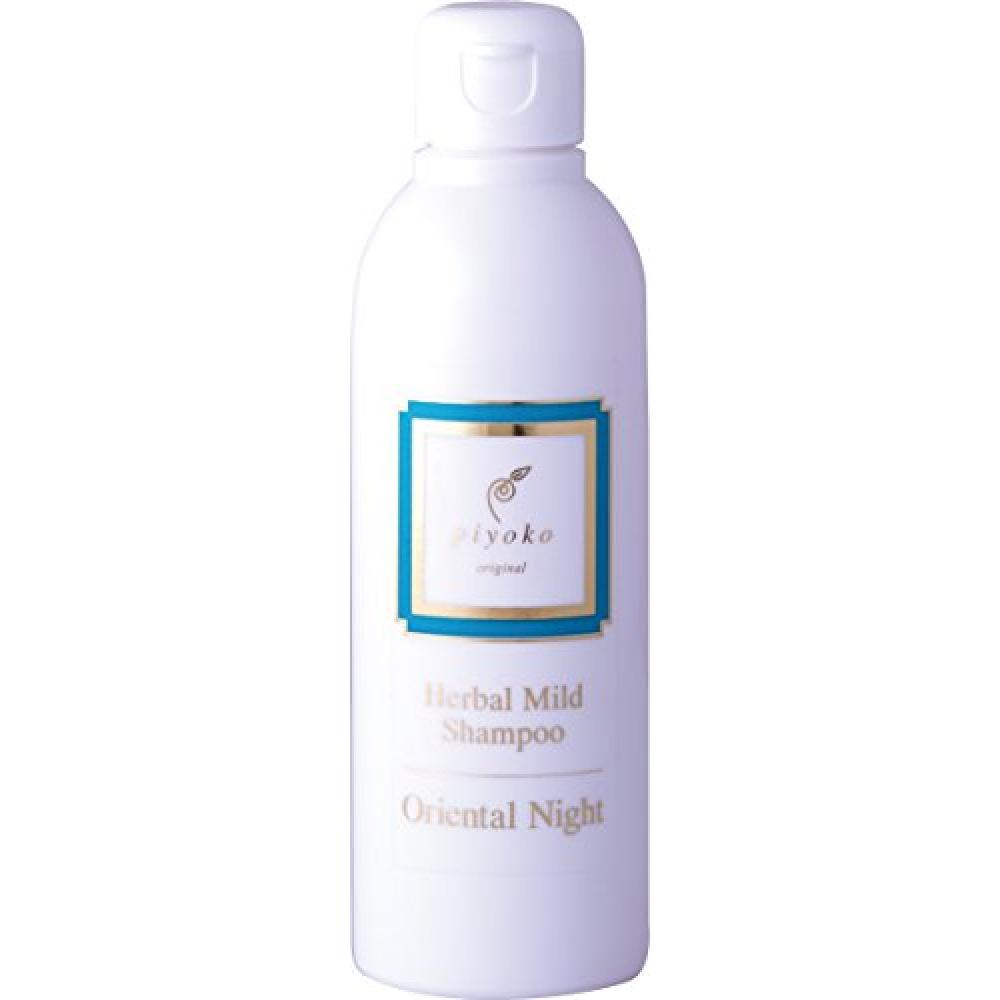 piyoko herbal mild shampoo oriental night