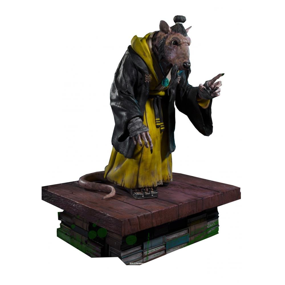 Museum master line / Mutant Turtles: Splinter poly Stone Statue MMTMNT-05