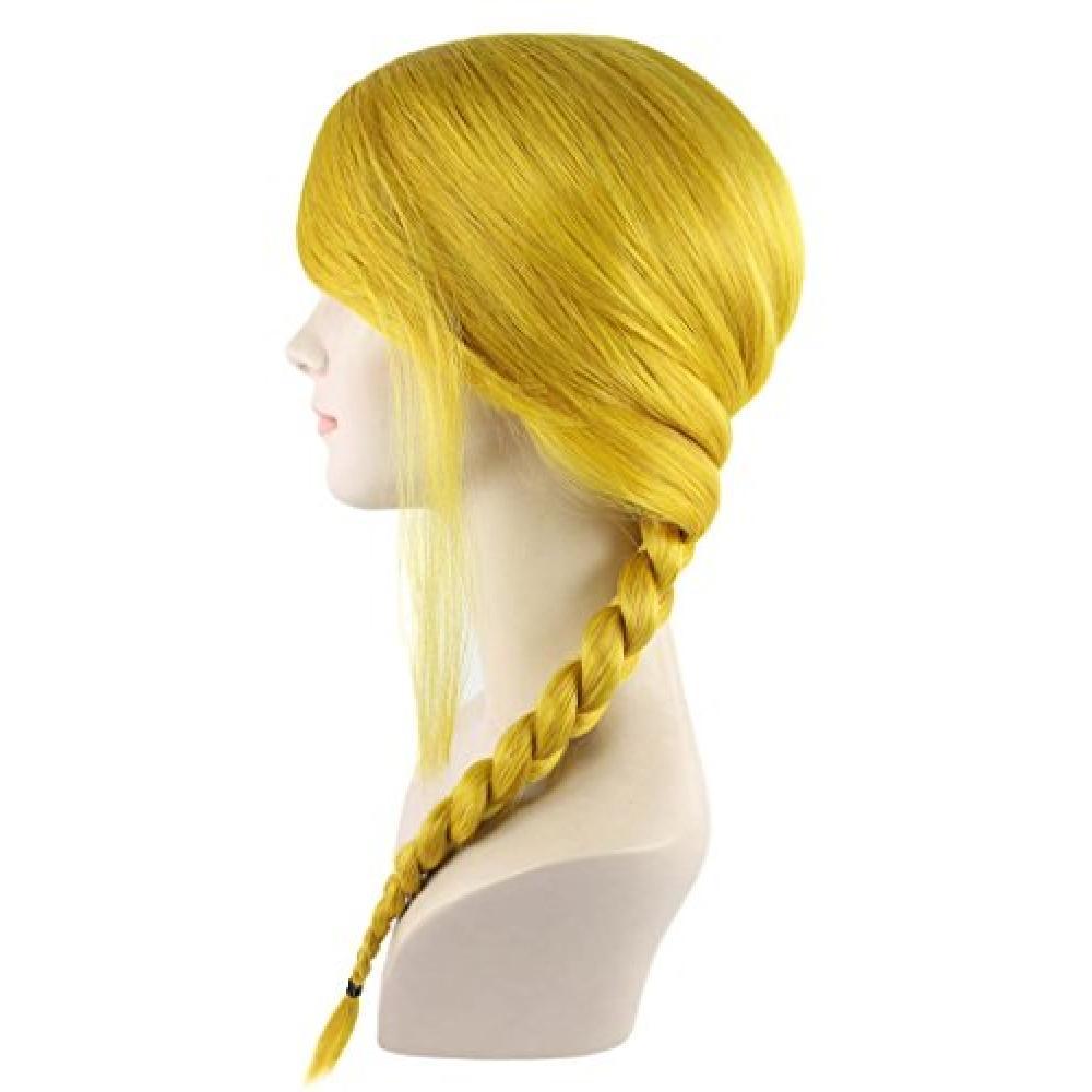 Wigs2you yellow yellow wig braids Halloween Party H-1181 full wig original wig costume cosplay wig wedding you elegant