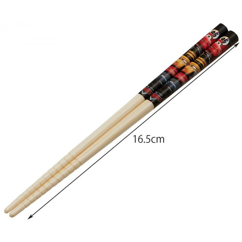 Skater Chopsticks Bamboo Chopsticks Bamboo Safety Chopsticks Cars 20 Disney 16.5cm ANT2