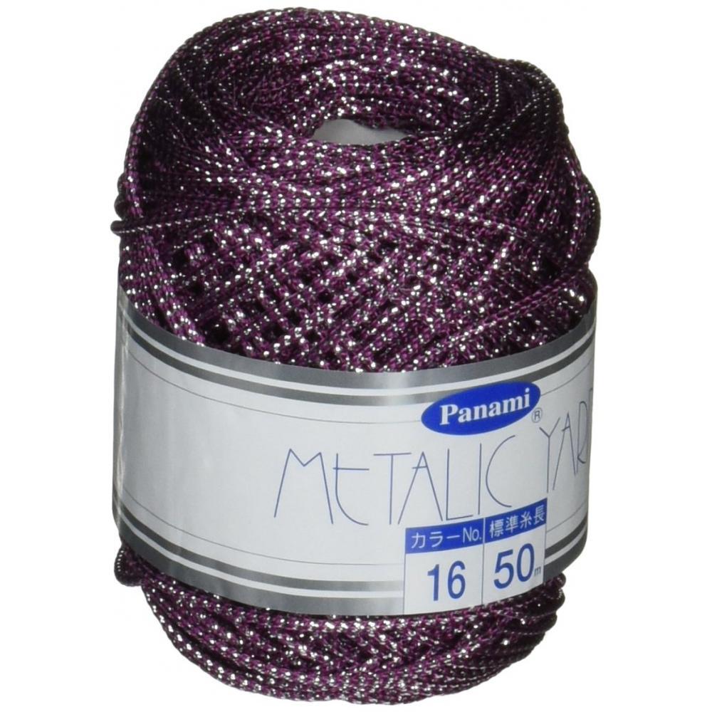 Panami metallic yarn <color> COL.16 50m