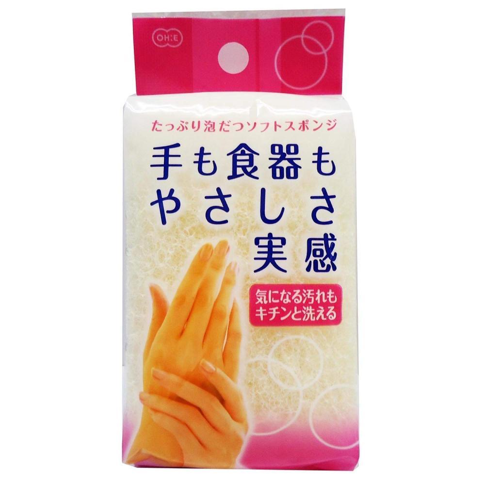 Ohe Hand-friendly kitchen sponge white 12.×6.5×4 cm 1 pc.