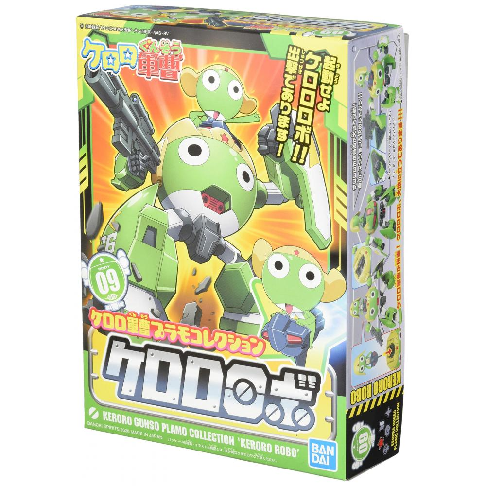 Keroro Plastic Model Collection Keroro Robot color-coded pre-Plastic