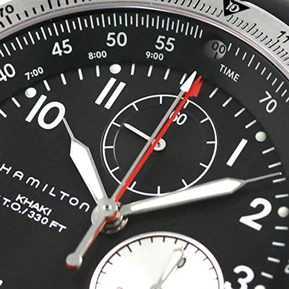 [Hamilton] HAMILTON Watch Khaki ETO Rubber H77612333 Men's