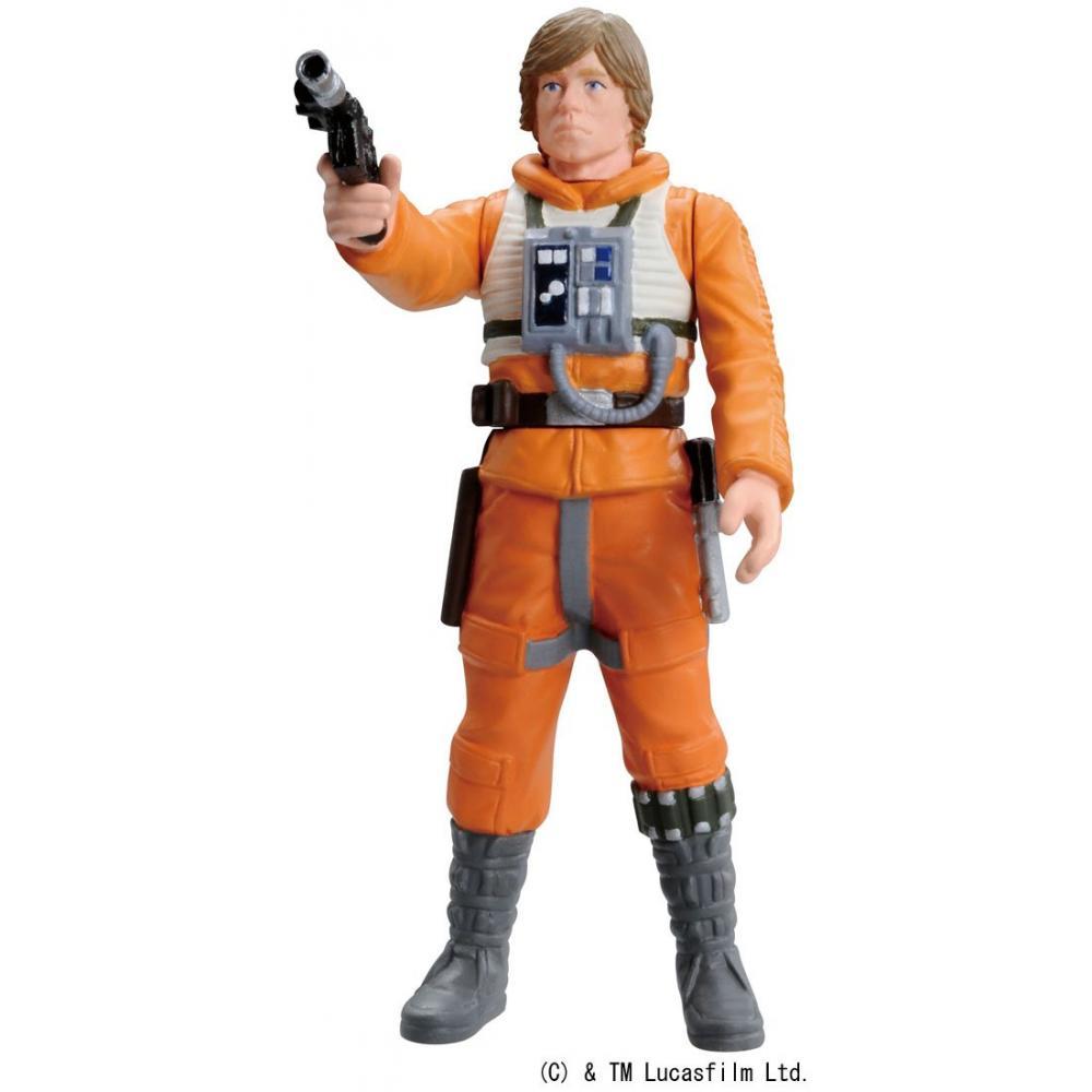 Metakore Star Wars # 06 Luke Skywalker Dagobah landing about 76mm die-cast painted action figure
