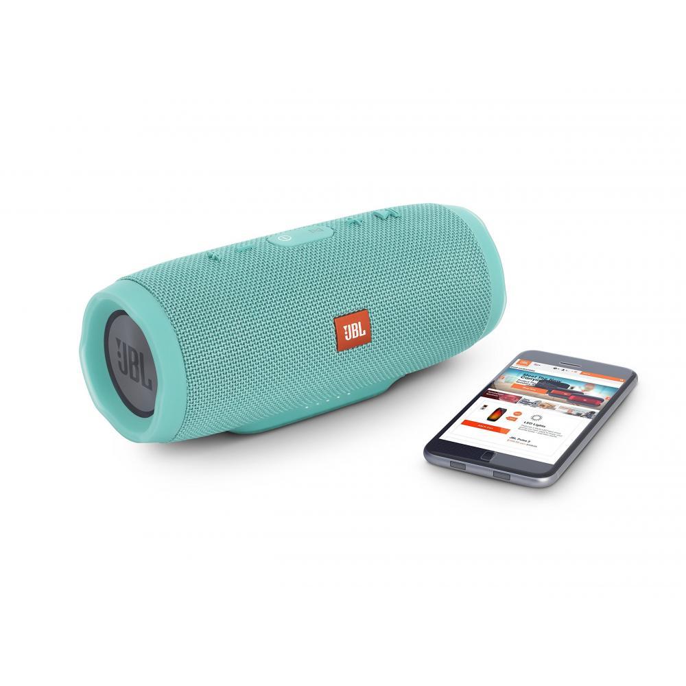 JBL CHARGE3 Bluetooth speaker IPX7 waterproof/portable/passive radiator mounted teal JBLCHARGE3TEALJN