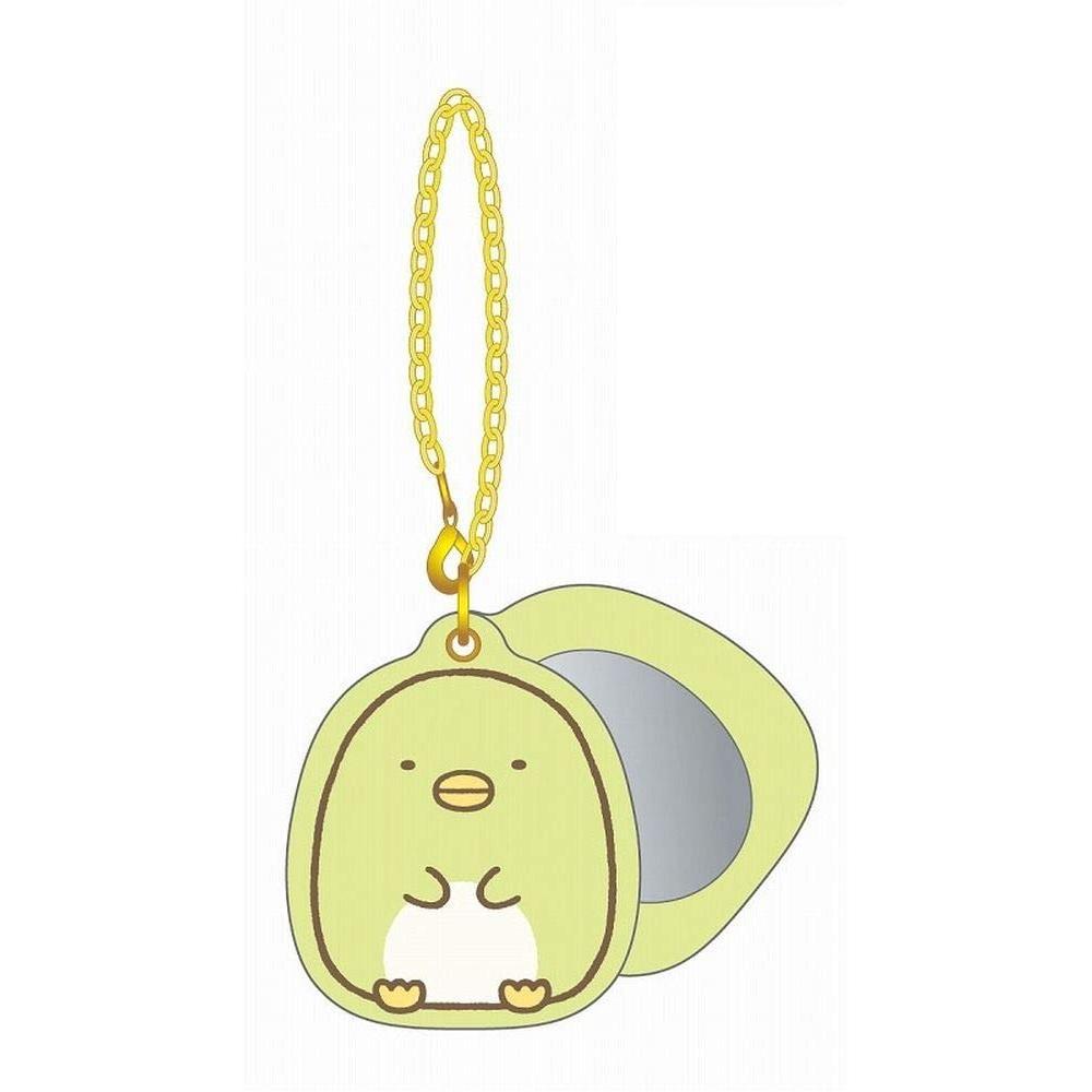 Sumikkogurashi Slide mirror key chain Penguin