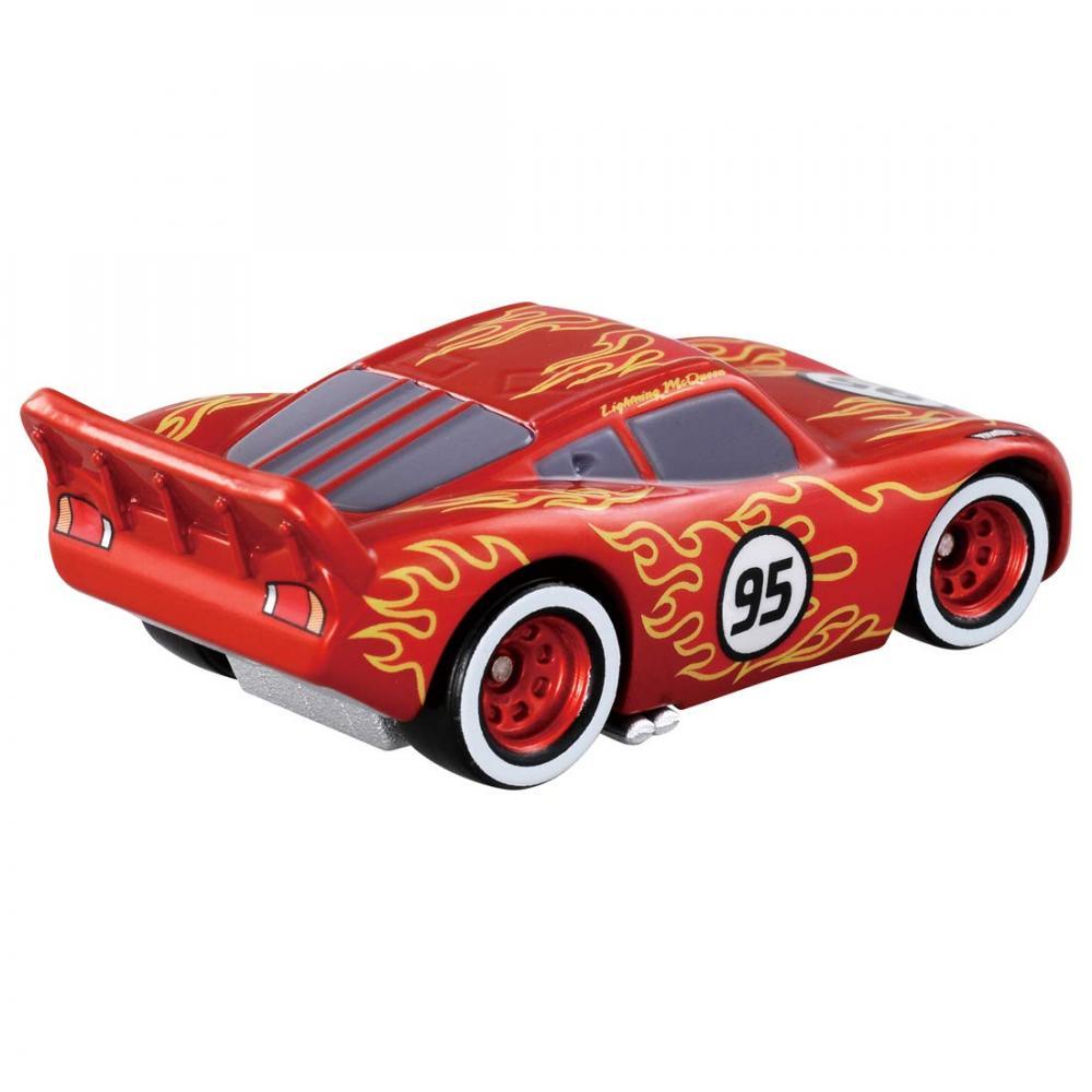 Disney Cars Tomica C-25 Lightning McQueen (hot rod type)