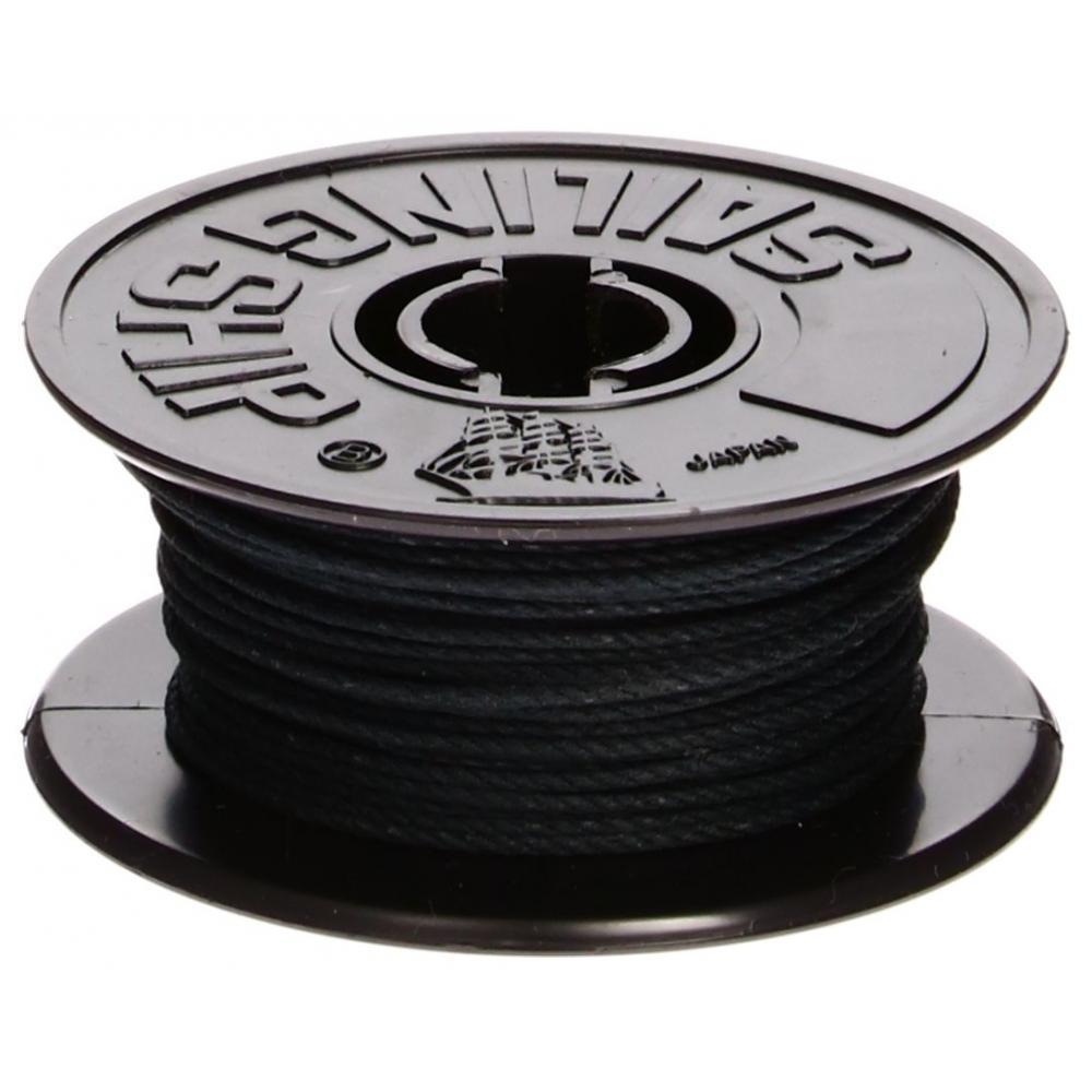 Woody Joe sailing ship parts 05 cotton rope black 5