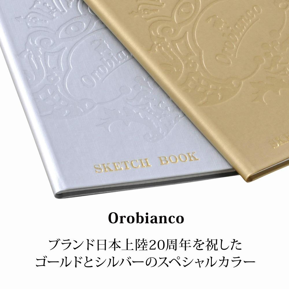 Orobianco Field Note 3mm Grid THV-KN09K Gold