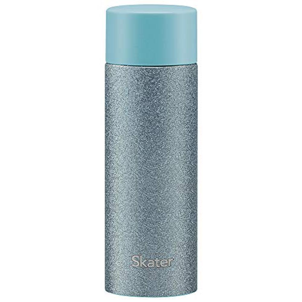 Skater mug bottle mini stainless steel bottle water bottle mobile mug purple blue 120ml SMBC1B