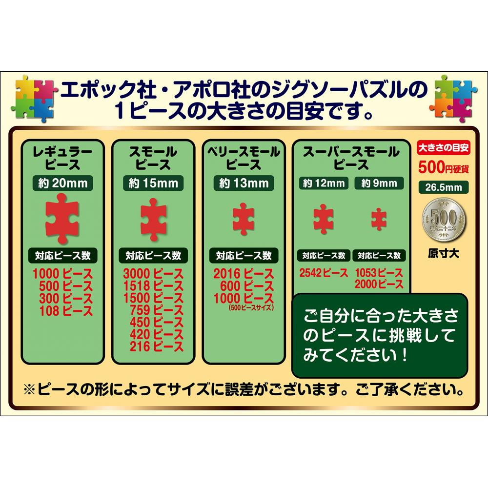 500 pieces jigsaw luck zodiac diagram (38x53cm)