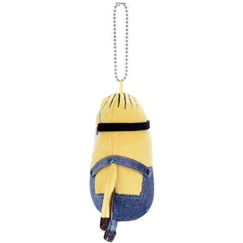 Minion Minion × Mocchi-Mocchi- ball chain mascot Stuart height of about 12cm