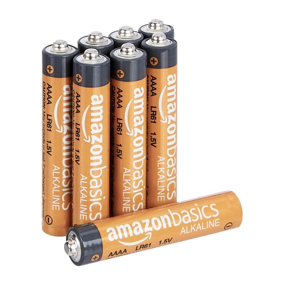 Batteries single 6 form alkali eight set