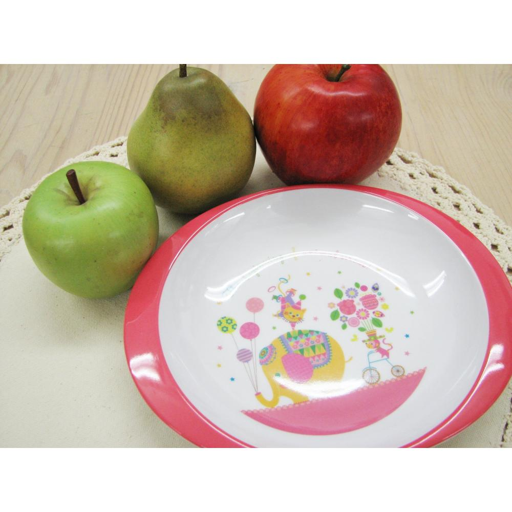 Maruwa baby tableware lively mate oval plate circus