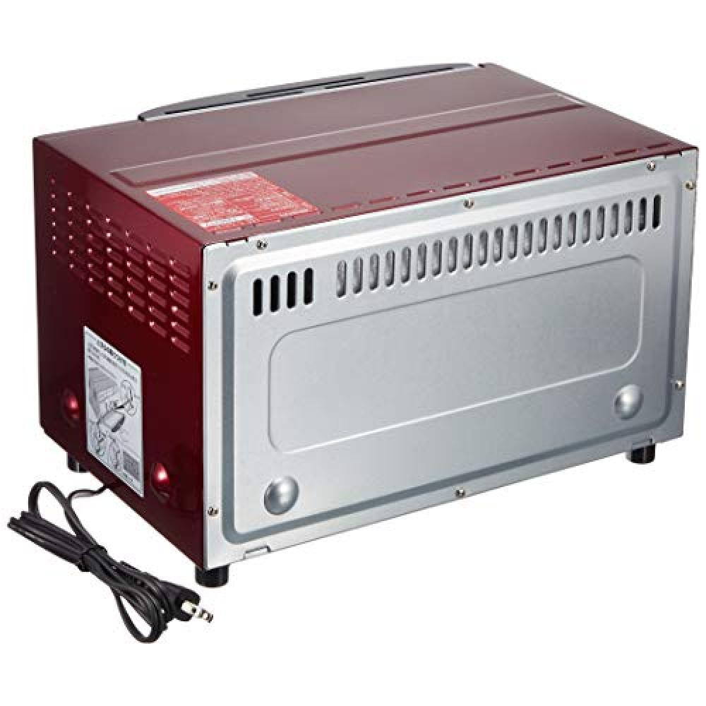 Zojirushi oven toaster browned club 80 ~ 250 ℃ metallic red with a temperature adjustment function ET-WM22-RM