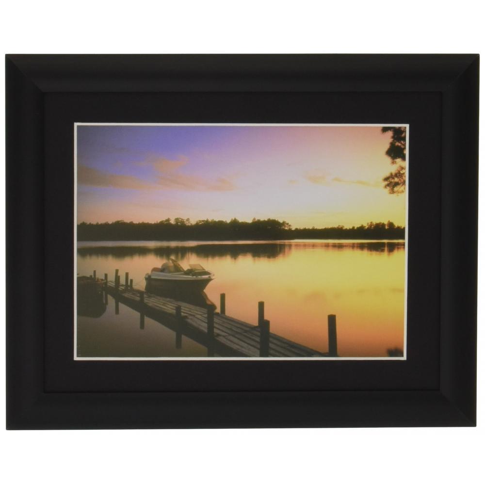 DNP Photo Imaging picture frame look mild 2 2L aluminum black 415496