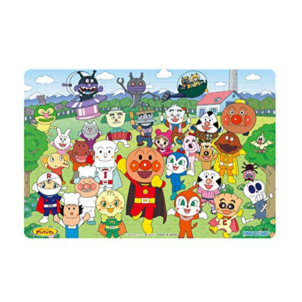 The first time of the puzzle 30 piece A pattern friends large set Anpanman genius brain