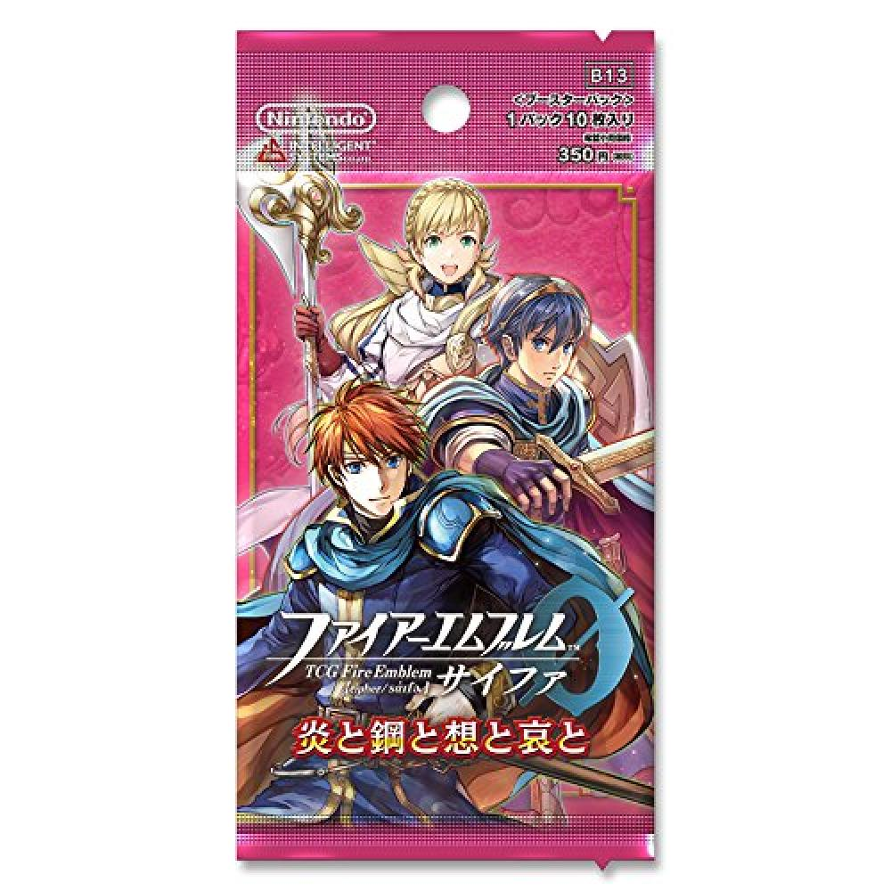 """TCG Fire Emblem 0 (cipher) booster pack """"fire and steel and the virtual and the sorrow and the"""" BOX (1BOX16 packs)"""