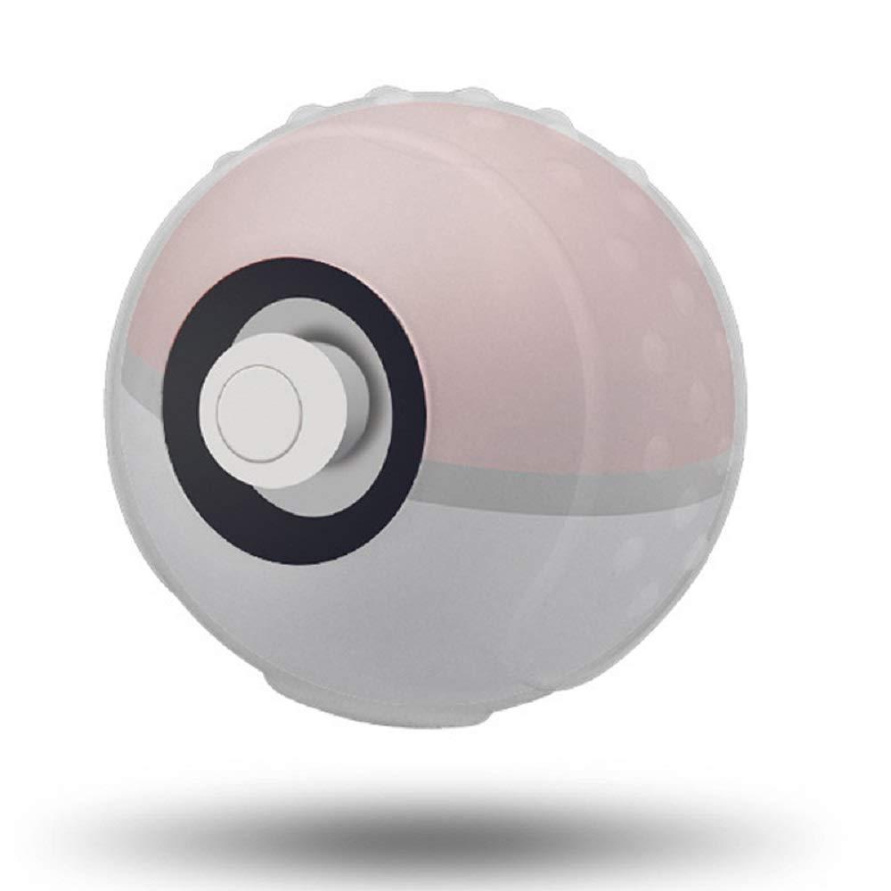 New SNNC Nintendo Switch PM Ball Controller Silicon Protective Case PocketMonster Ball PM-Con Compatible Protective Cover PM Ball Con Case Translucent
