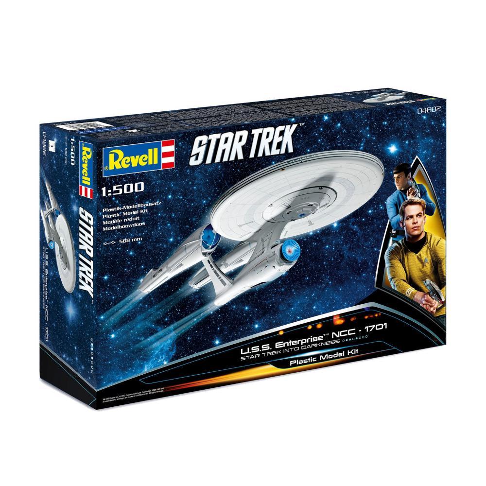 Germany level Star Trek 1/500 NCC-1701 U.S.S Enterprise (movie version) plastic model kit GR04882