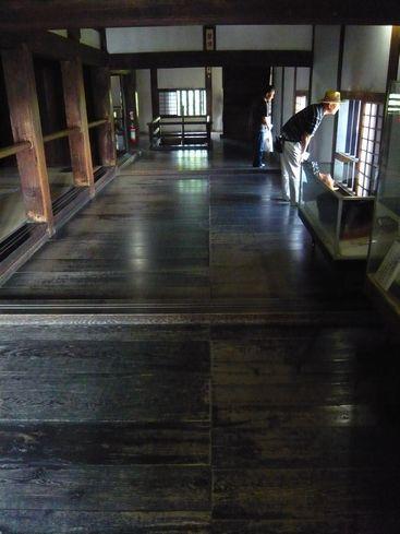 犬山城の内部