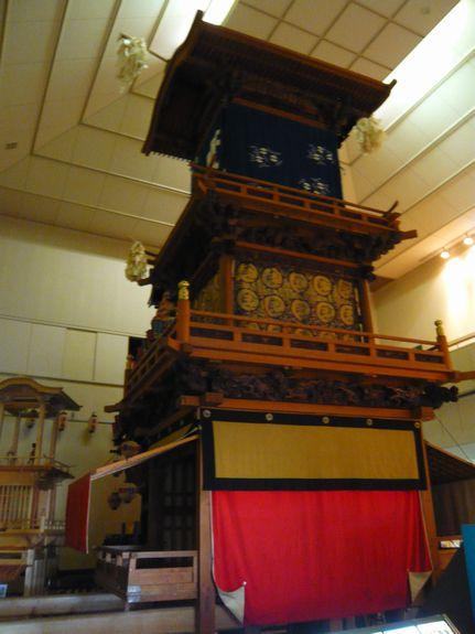 犬山市文化史料館に展示されてある車山