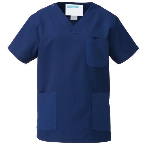 カゼン133 カラフルスクラブ(男女兼用)販売。刺繍、プリント加工対応します。研修医、医療チームウェアに人気