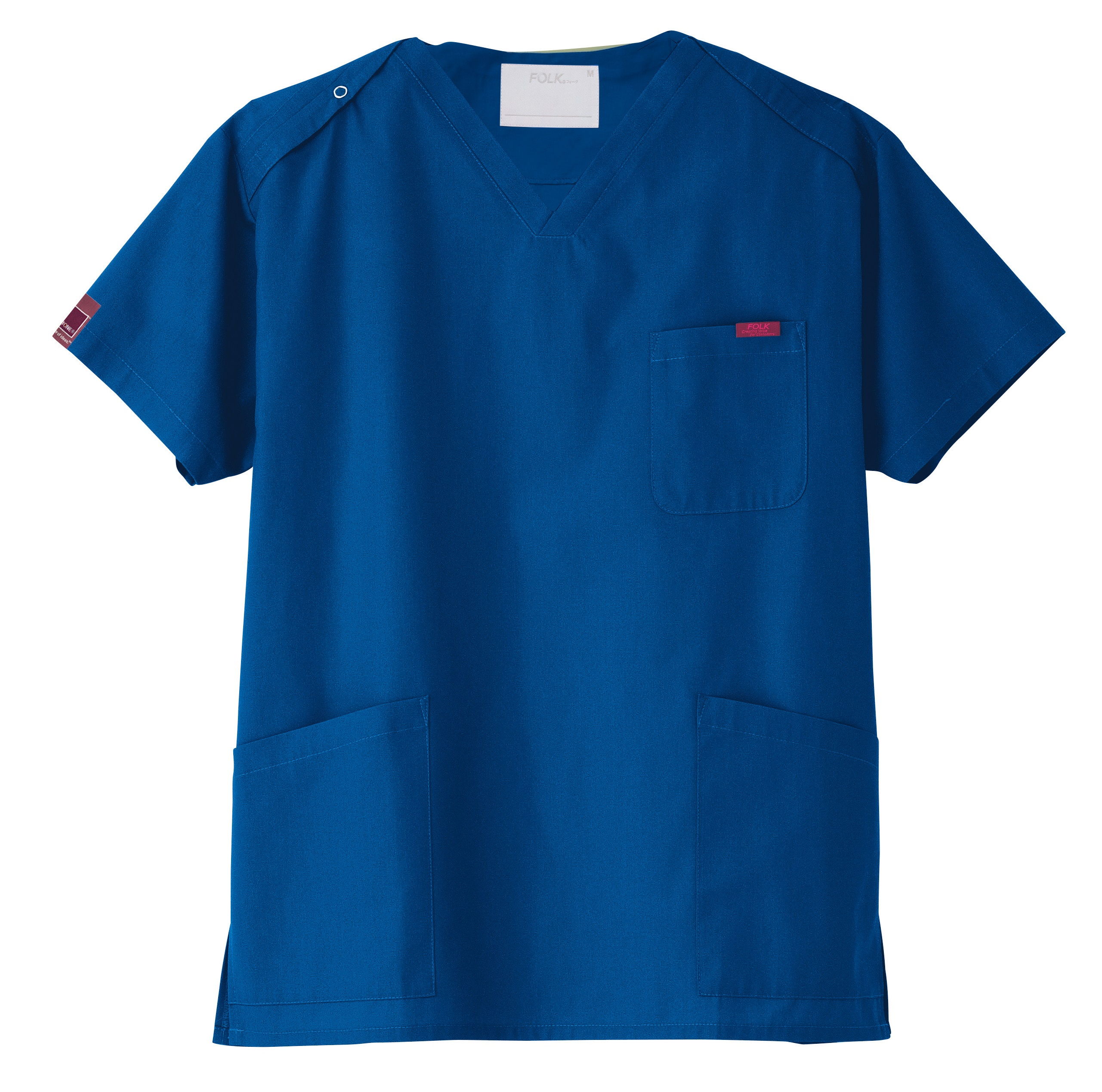 PANTONE スクラブ(男女兼用)販売。刺繍、プリント加工対応します。研修医、医療チームウェアに人気