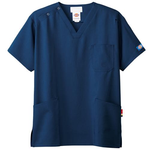 ディッキーズ メンズスクラブ販売。刺繍、プリント加工対応します。研修医、医療チームウェアに人気