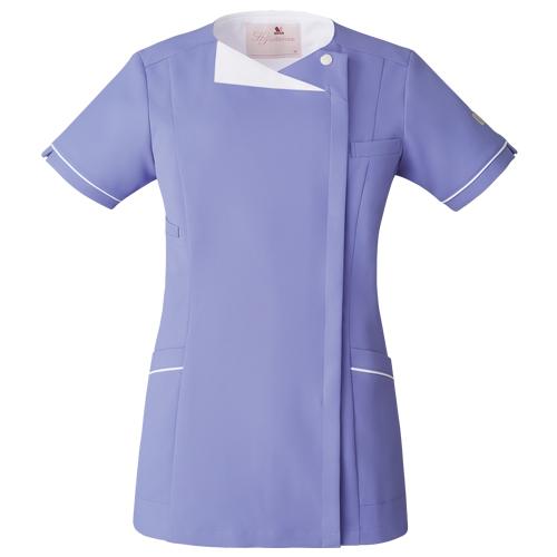 レディースジップスクラブ販売。刺繍、プリント加工対応します。研修医、医療チームウェアに人気