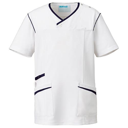 カゼン メンズスクラブ販売。刺繍、プリント加工対応します。研修医、医療チームウェアに人気
