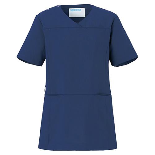 カゼン レディススクラブ販売。刺繍、プリント加工対応します。研修医、医療チームウェアに人気