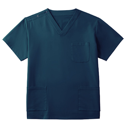 カゼン スクラブ(男女兼用)販売。刺繍、プリント加工対応します。研修医、医療チームウェアに人気