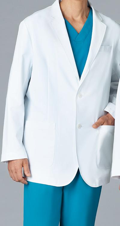 カゼン メンズブレザー販売。刺繍、プリント加工対応します。研修医、医療チームウェアに人気