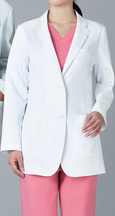 カゼン レディスブレザー販売。刺繍、プリント加工対応します。研修医、医療チームウェアに人気