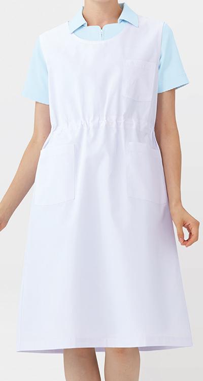 カゼン 予防衣袖なし(男女兼用)販売。刺繍、プリント加工対応します。研修医、医療チームウェアに人気