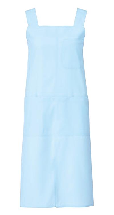 カゼン エプロン(ミドル丈)(男女兼用)販売。刺繍、プリント加工対応します。研修医、医療チームウェアに人気